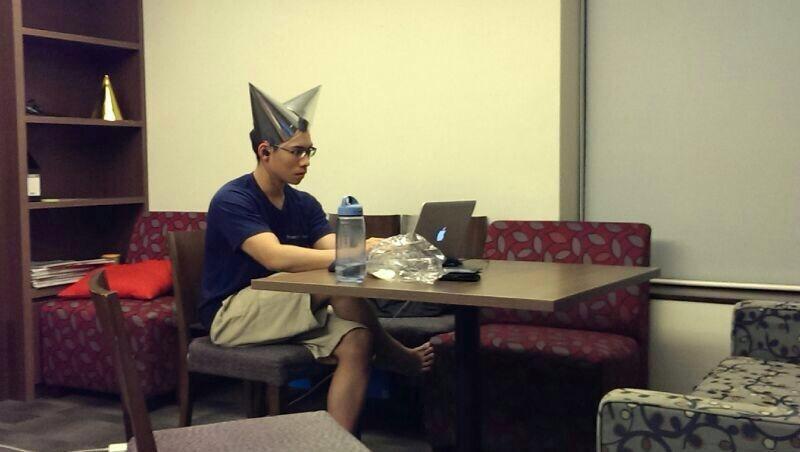 Me coding in 2013